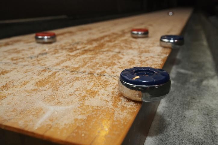Shuffleboard at Oyster Bay Apartments